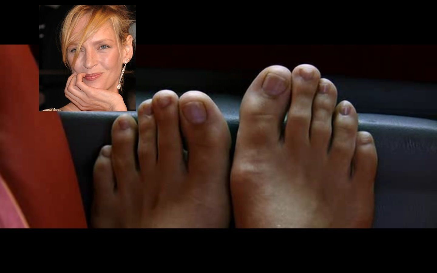 Boobs Feet Uma Thurman naked photo 2017