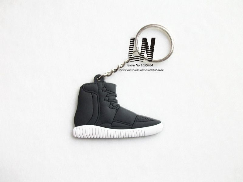 best cheap c0d78 cb43a Cute Silicone Yeezy 750 Boost Keychain Sneaker Key Chain ...