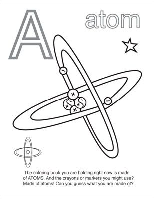 Nerdybaby net coloring book for very young scientists