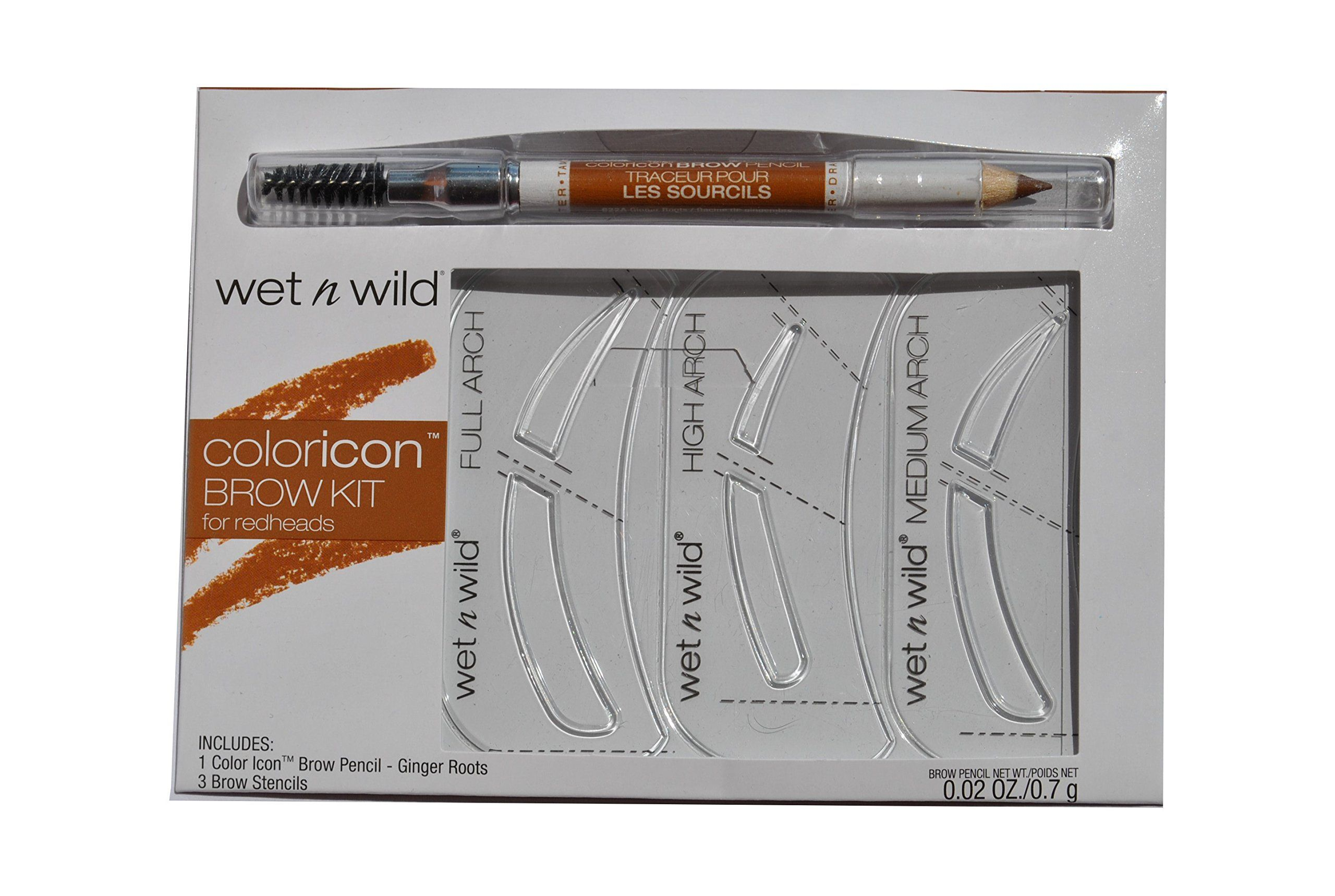 Wet N Wild Coloricon Brow Kit for Redheads. 3 Brow ...