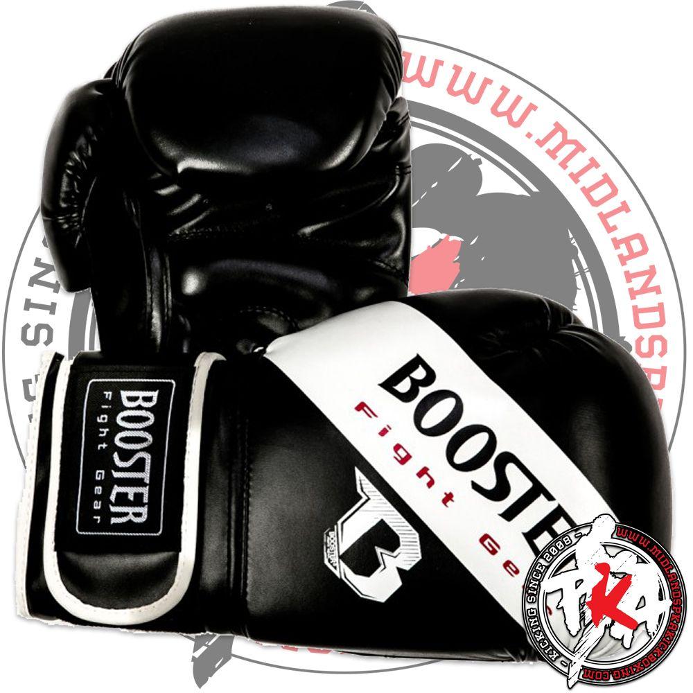boosterbtsparringwhite kickboxing gloves