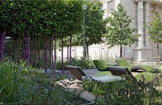 Jardin et le jardin des Tuileries