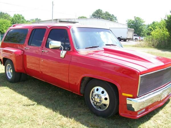 Custom 1977 Chevy Suburban Dually Chevy Suburban Hunting Truck