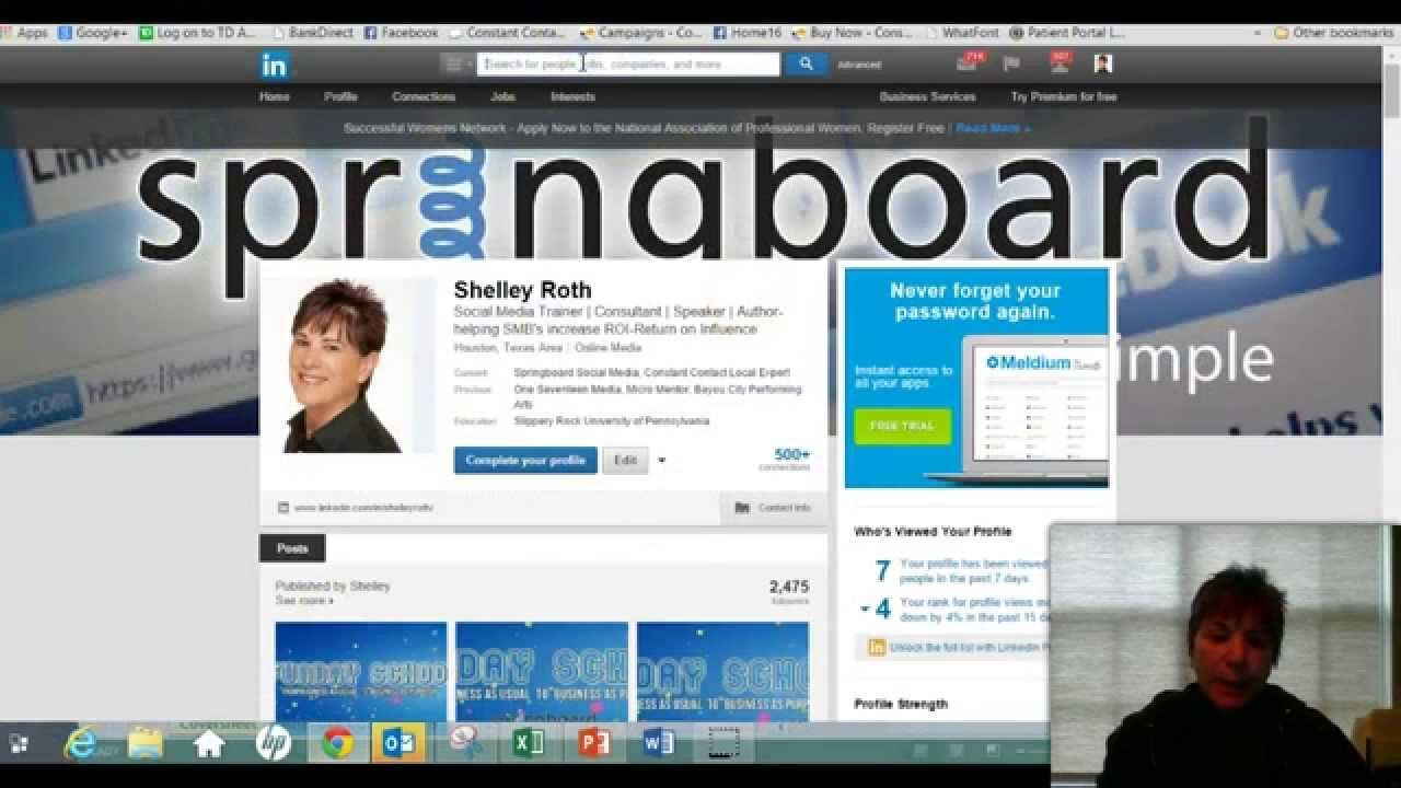 Want to learn how to use LinkedIn's Back Door for Sending