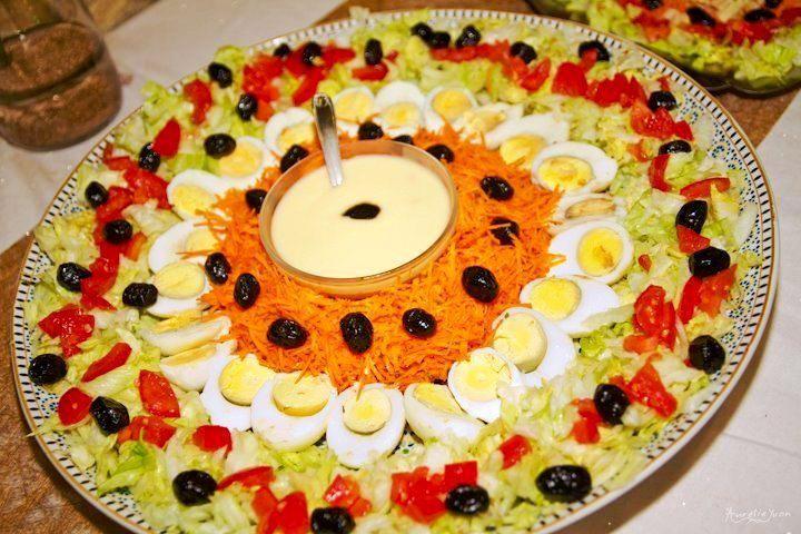 Salade Marocaine Lalla Moulati Moroccan Food Moroccan Food Food Moroccan Cooking