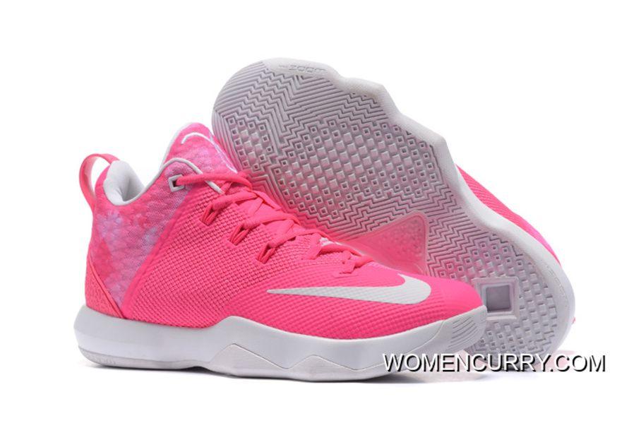 "722448363370f New Nike LeBron Ambassador 9 ""Kay Yow"" Pink White Lastest in 2019 ..."