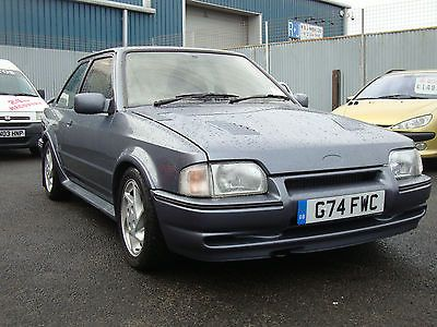 1990 FORD ESCORT RS TURBO GREY - http://www.fordrscarsforsale.com/3800