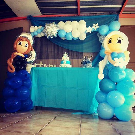 Frozen party   www.facebook.com/miasglobos