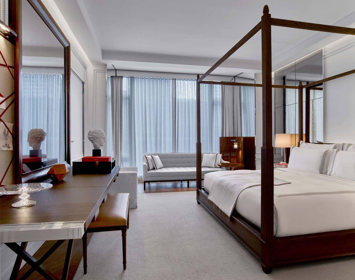 Grand Classic King Suite Bedroom Interior Contemporary Bedroom
