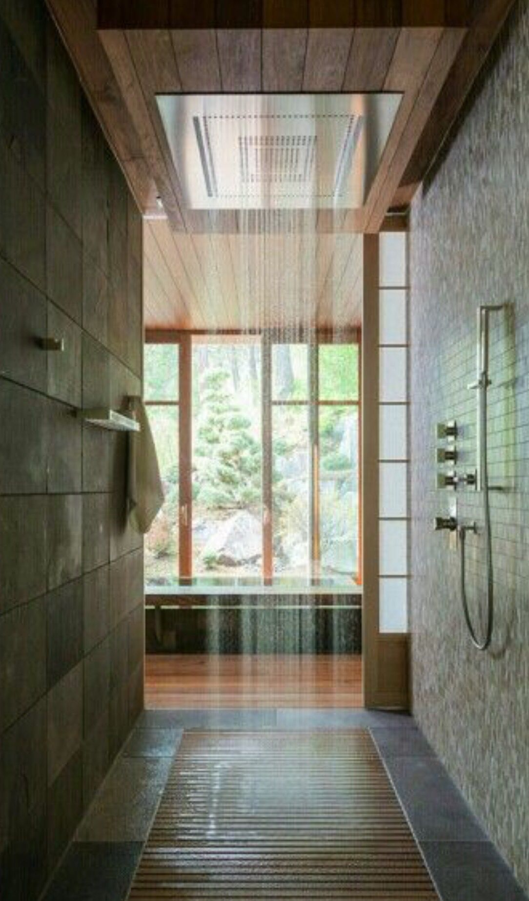 Badezimmer design neu rainhead for basement shower aquabrass  haus  pinterest