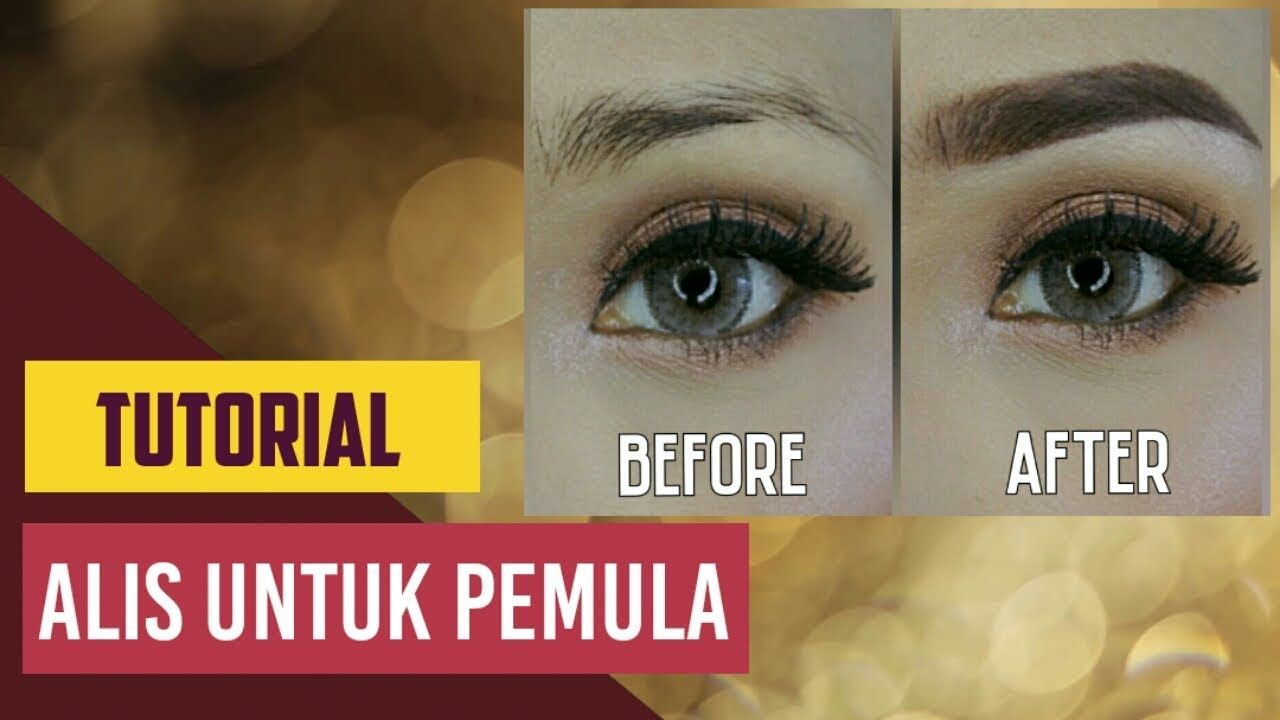 Cara Membuat Alis Untuk Pemula Tutorial Bikin Alis Untuk Pemula Alis Alis Mata Eyebrows