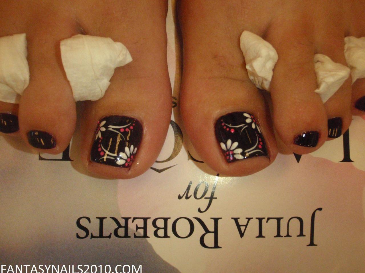 FANTASY NAILS - PEDICURE DESIGN   Nails   Pinterest