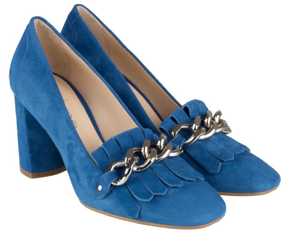 Licht Blauwe Pumps : Evaluna pump licht blauw monfrance webshop trend