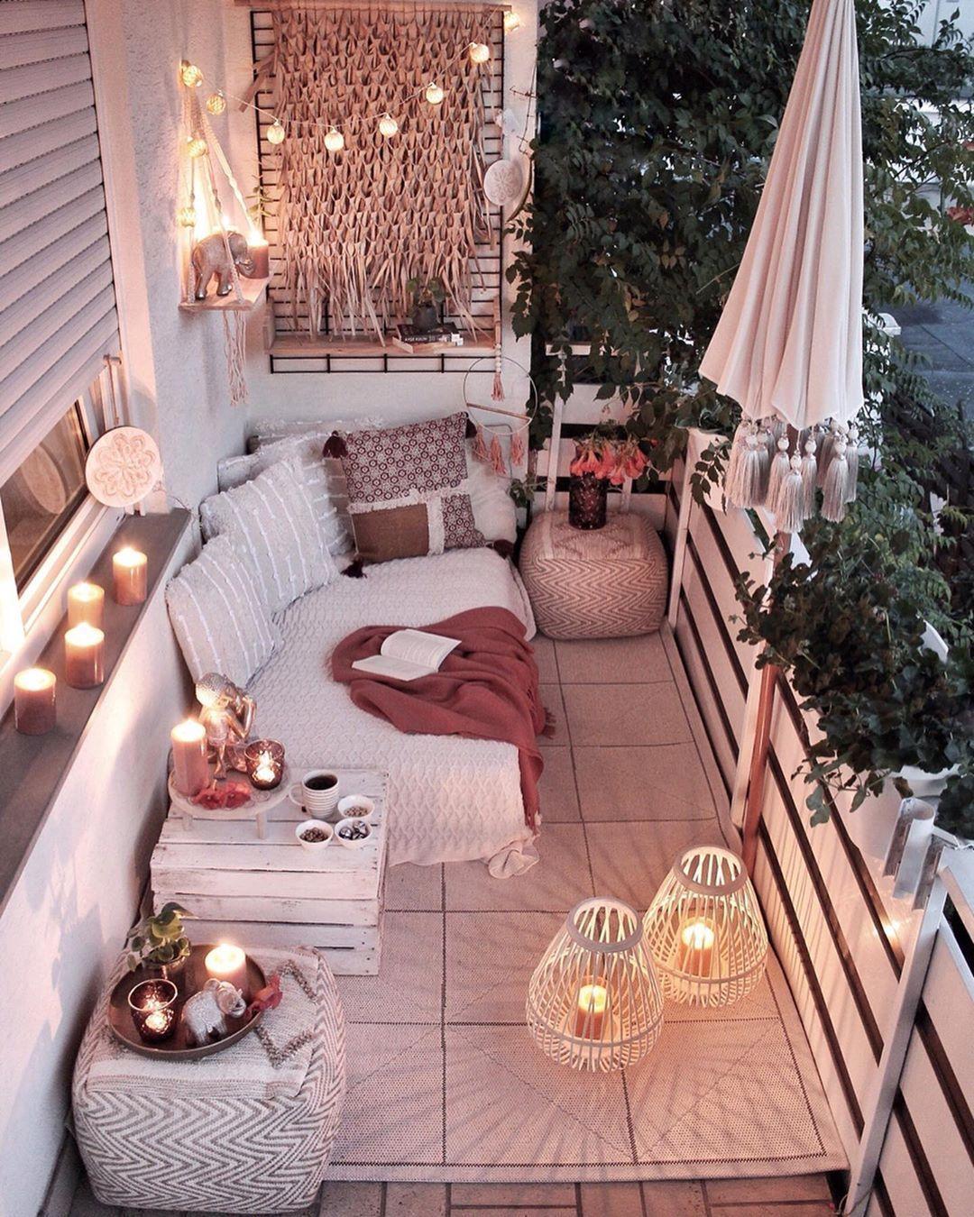 Photo of balcony #balcony Last call for summer! Was fr ein traumhafter Balkon im Bali-Sty…