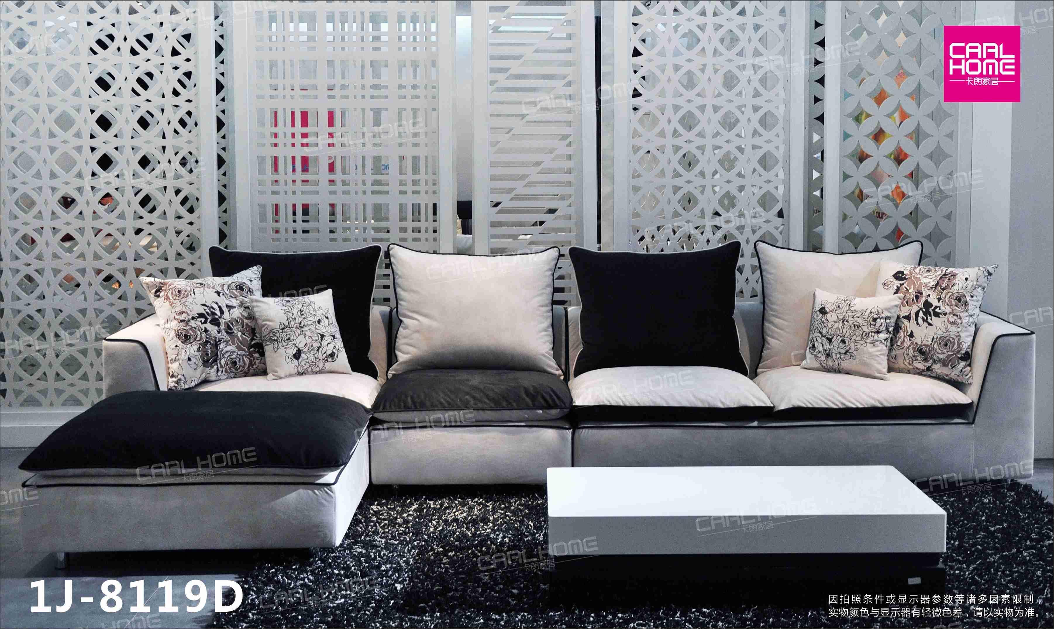 Morden Fabric L Shape Sofa, Corner Sofa , Colorful Sofa,