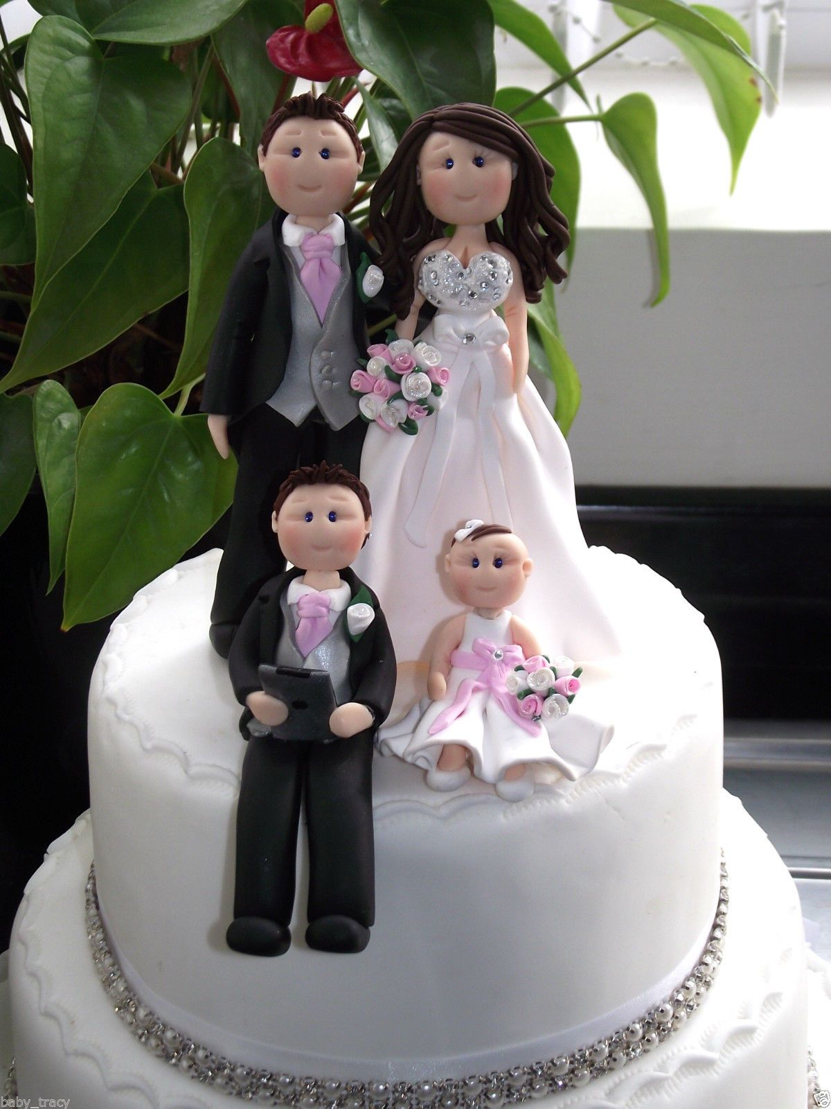 Http Www Ebay Ie Itm Personalised Wedding Cake Topper Figure