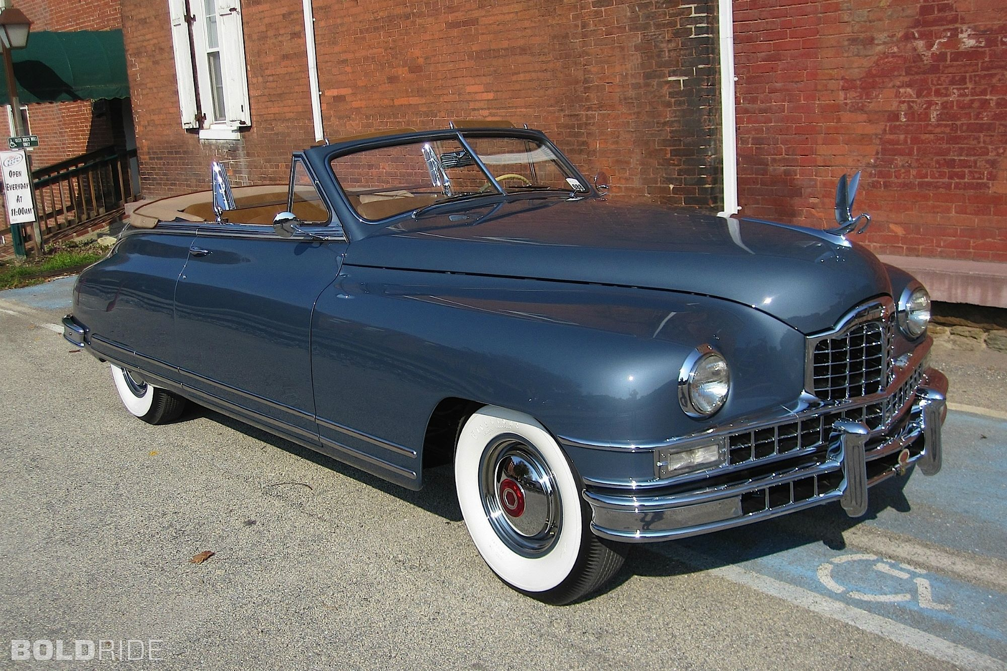 1949 Packard Super Eight Convertible Coupe