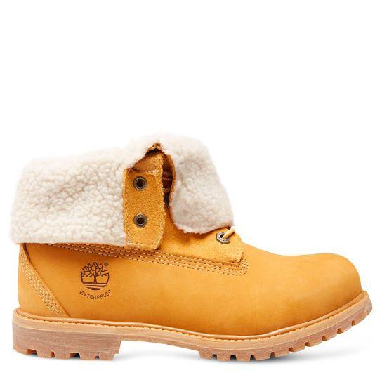 Achetez Timberland& Authentics Teddy Fleece Waterproof Fold-Down Boot femme  sur le site officiel Timberland dés aujourd'hui !