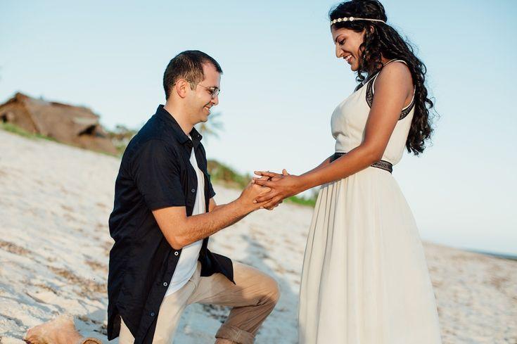 Nyali Beach Engagement Proposal   - Kenyan Weddings - Female Photographer -