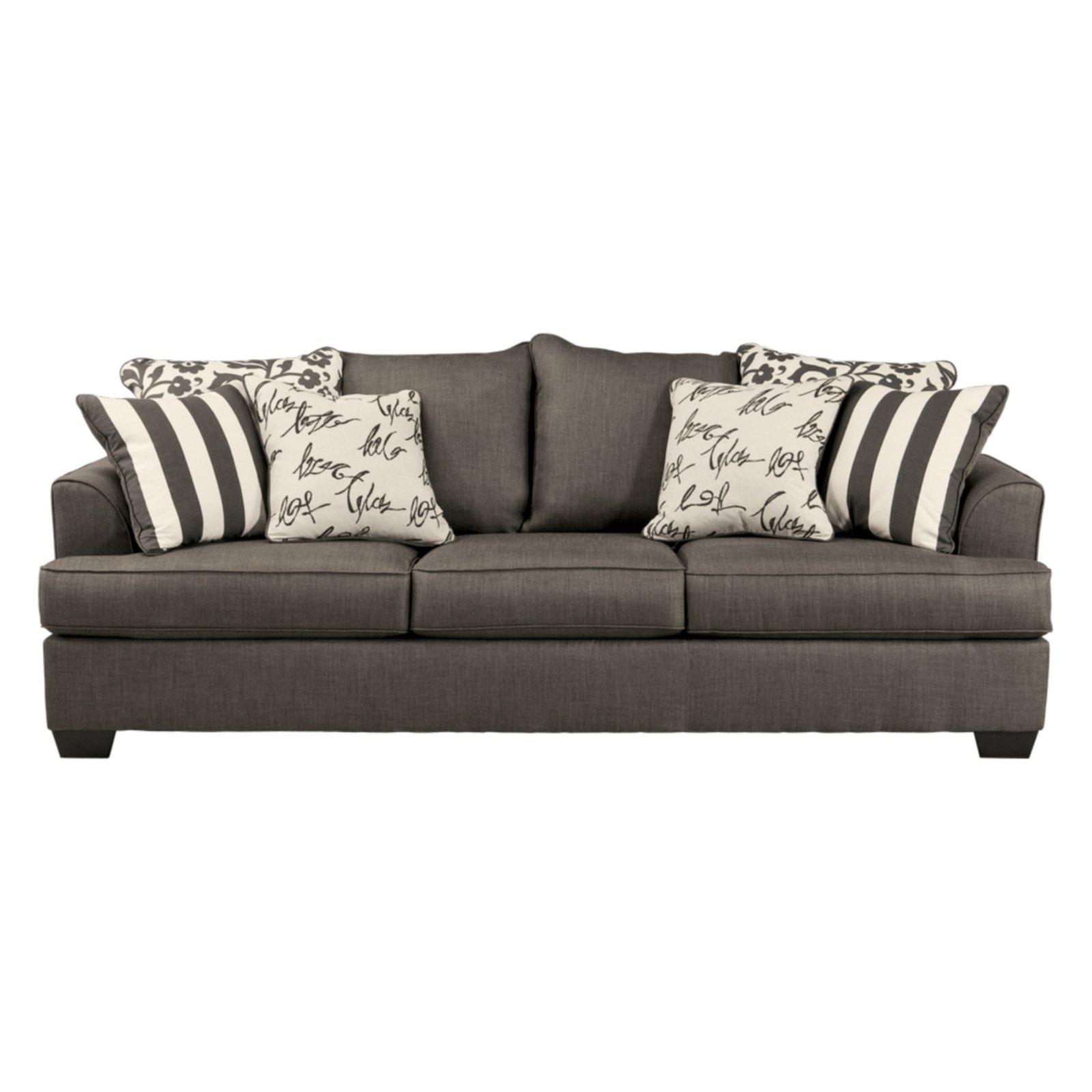 Aleyna Charcoal Queen Sleeper Charcoal Sofa Queen Sofa Sleeper