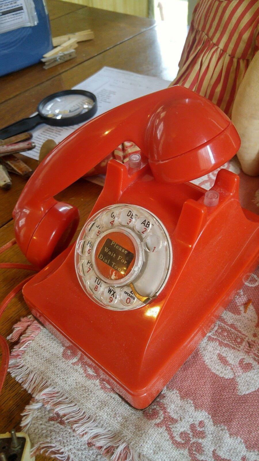 500 Vintage Antique Telephone Western Electric #6 Finger wheel 302