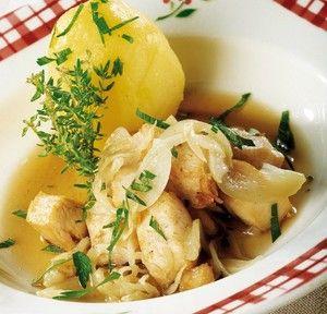 lapin au thym et au citron   cuisine lapin   pinterest