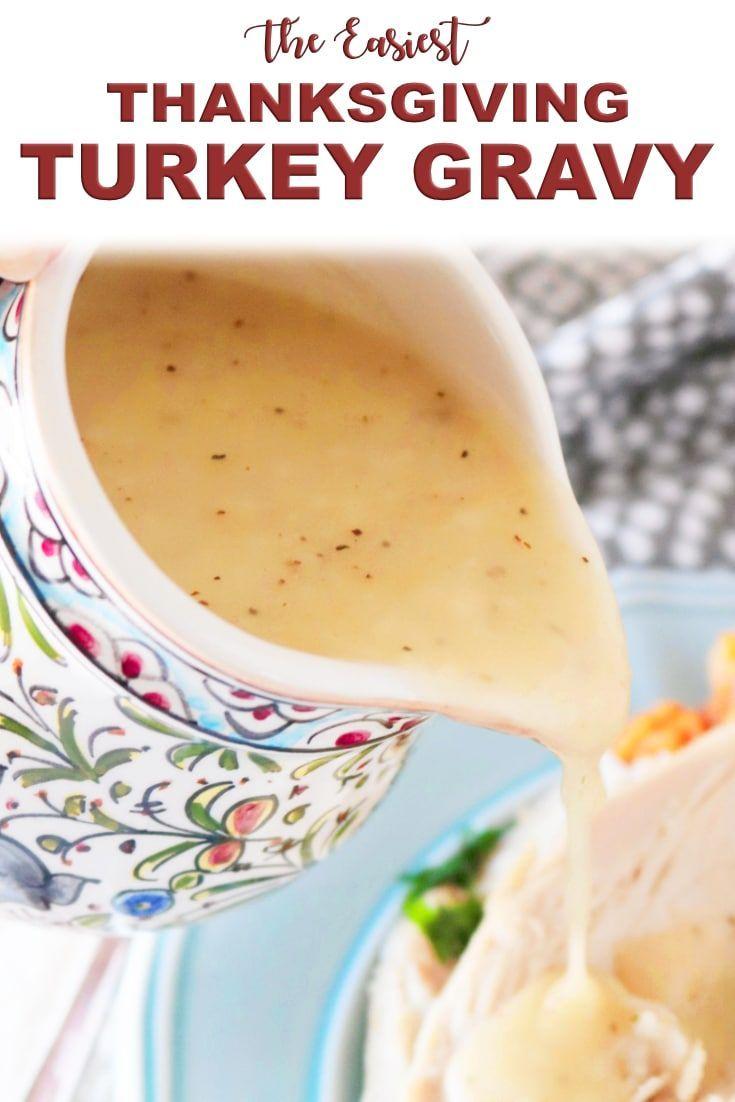 How to Make a Simple Turkey Gravy | Recipe #turkeygravyfromdrippingseasy