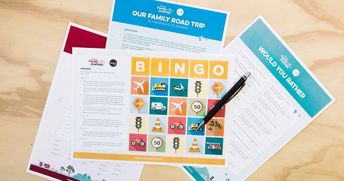 No family road trip is complete without games! Whether it's I Spy, Hey Cow! or a custom made game of your own – games turn stressful trips into quality family time. To help you up the fun factor in your family mobile, we have created a series of fantastic car games for you to printRead More