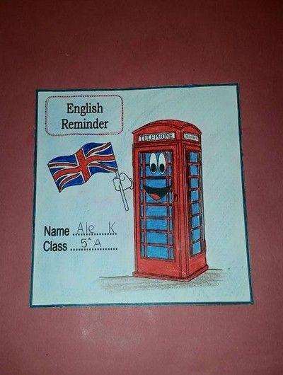 Lapbook Inglese Lapbook Inglese Pinterest