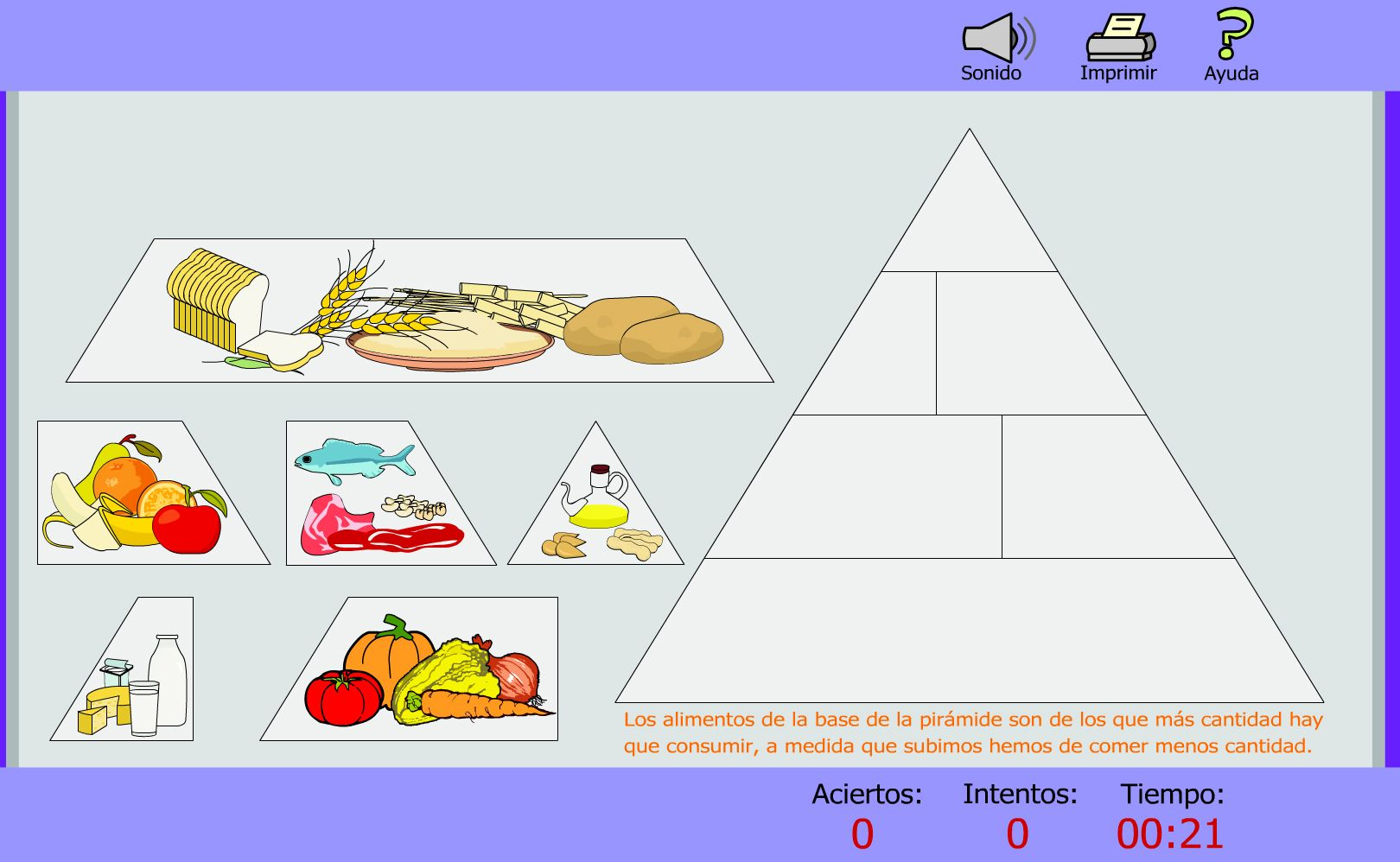 Recurso Educativo En Abierto Procomún Conoce La Pirámide Alimenticia Para Tener Una Alimentación Saludable La Piramide Pirámide Curso De Mecanica Automotriz