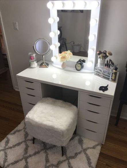 Makeup Vanity Setup Dressing Tables 42 Ideas Makeup Kaptafel
