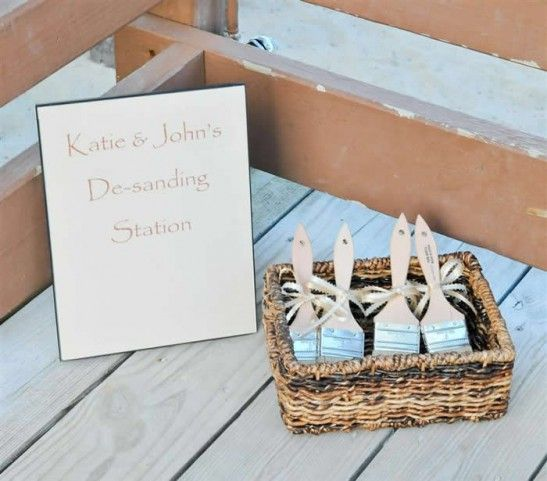 Cute beach wedding idea..I hate having sand on my feet | He asked ...