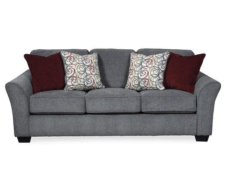 Signature Design By Ashley Idlebrook Gray Sofa Big Lots Sofa Gray Sofa Ashley Sofa