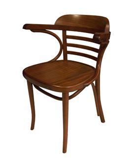 cl sica b 23 cl sica silla con brazos en madera de haya y