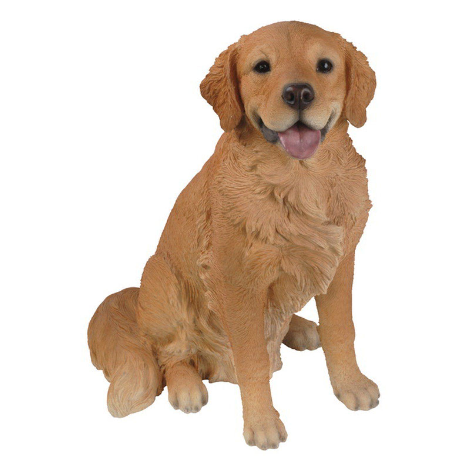 Hi Line Gift Ltd Sitting Retriever Dog Garden Statue Dog Garden