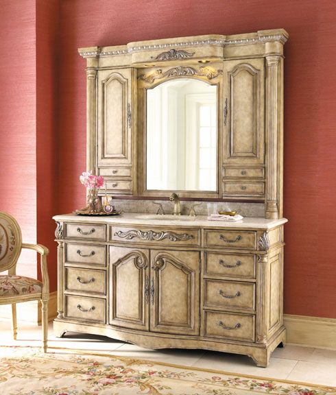 Bathroom Hutch french provincial bathroom vanities been looking for | french