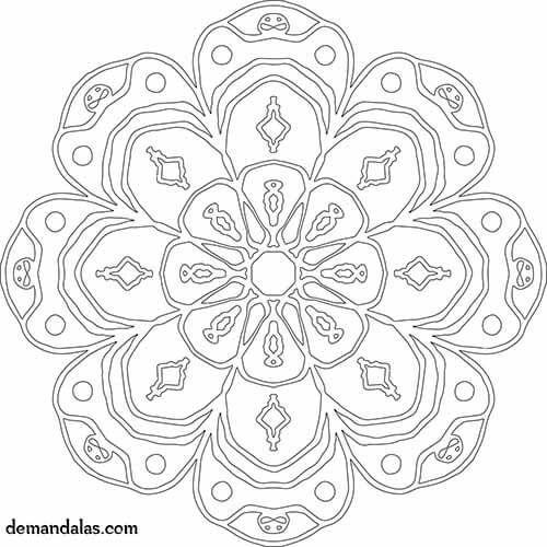 Mandalas Para Imprimir Faciles Imprime Gratis En Pdf Mandala
