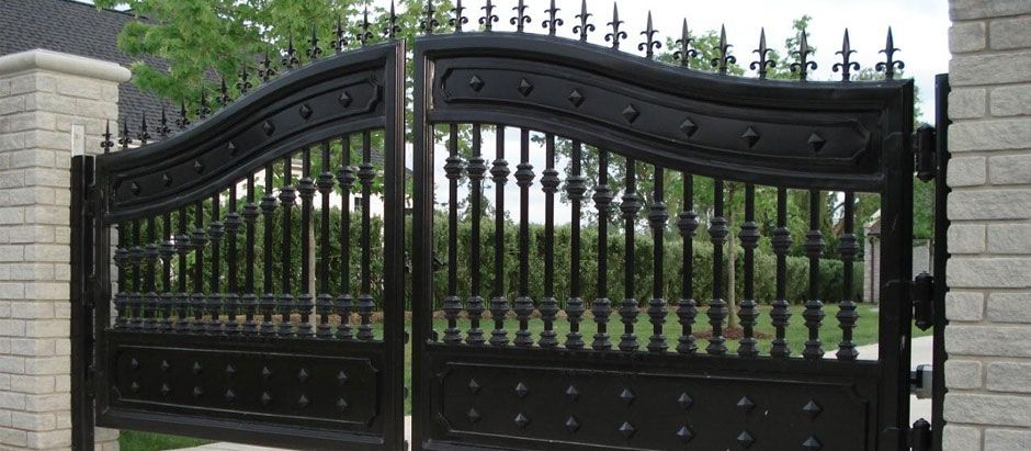 #Adoore #Designs #Wrought #iron #gates add a splash of splendor and quality to any #Australian #home.