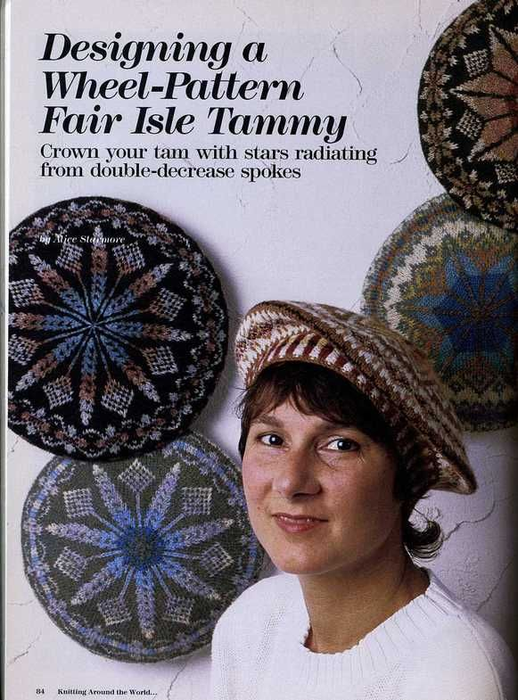 Knitting Around the World+ S.McGregor Traditional Fair Isle ...