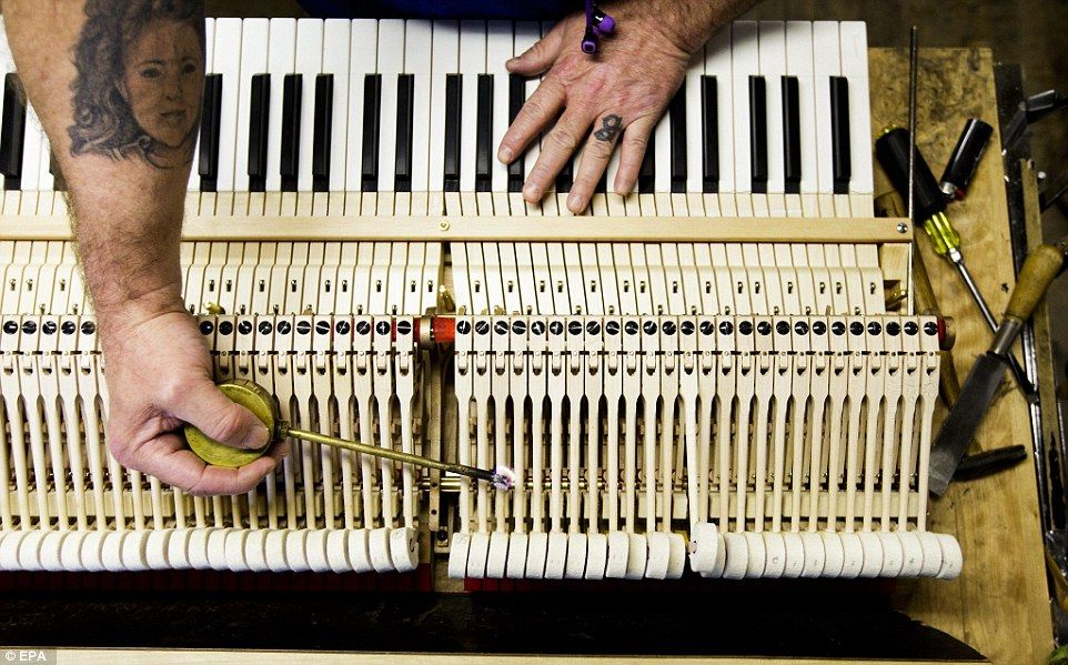 Incredible images reveal the secrets of steinways piano