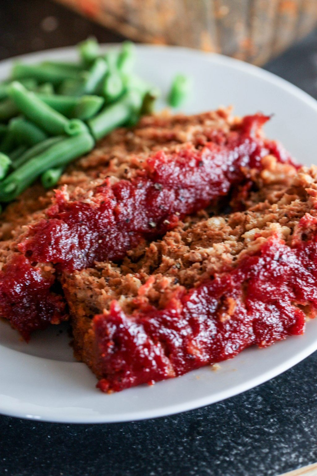 A Moist Turkey Meatloaf That S Perfectly Seasoned Loaded With Colby Jack Cheese And Brushed With B Bbq Turkey Meatloaf Turkey Meatloaf Turkey Meatloaf Recipes