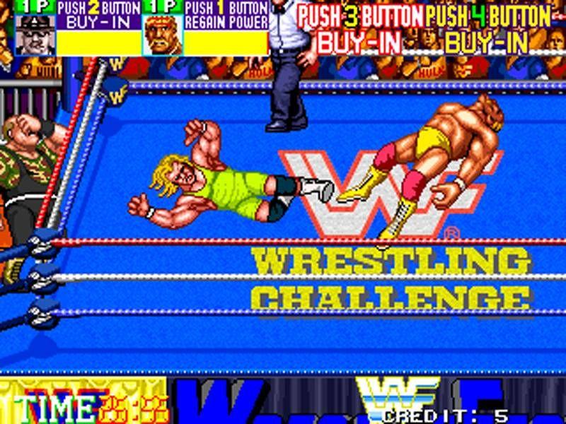 Wwf Wrestlefest Arcade Wrestling Games Video Game Music Arcade