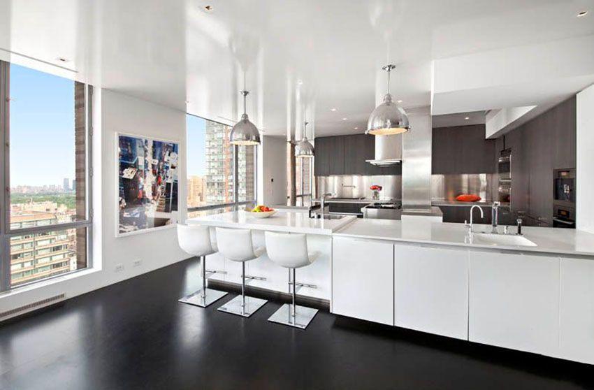 28 Modern White Kitchen Design Ideas Photos  Modern White Endearing Modern Kitchen Cabinets Nyc Inspiration Design