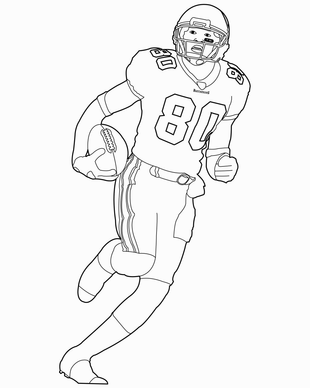 Football Coloring Pages Nfl Football coloring pages