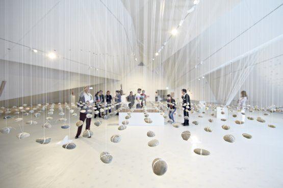 Justin Fiskes Installation im Museum der Kutluren