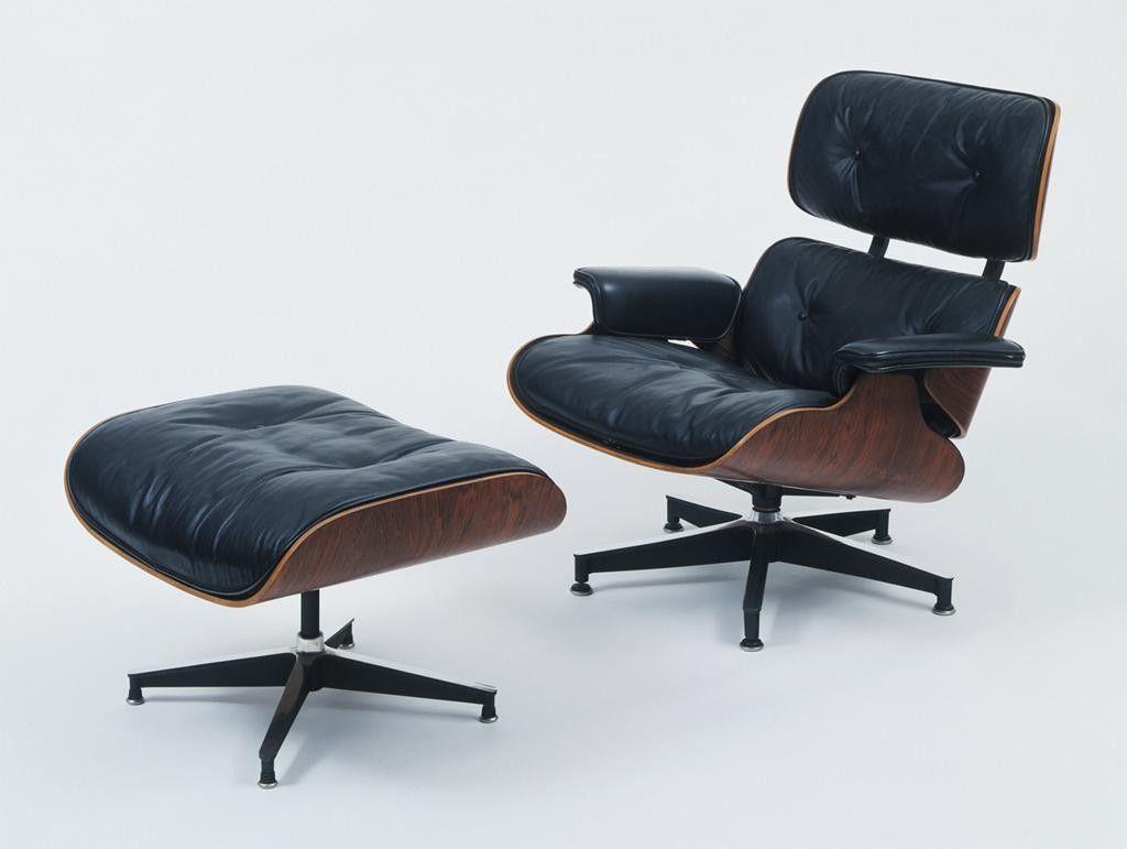 Le fauteuil eames lounge chair et son ottoman fauteuils - Fauteuil eames lounge ...