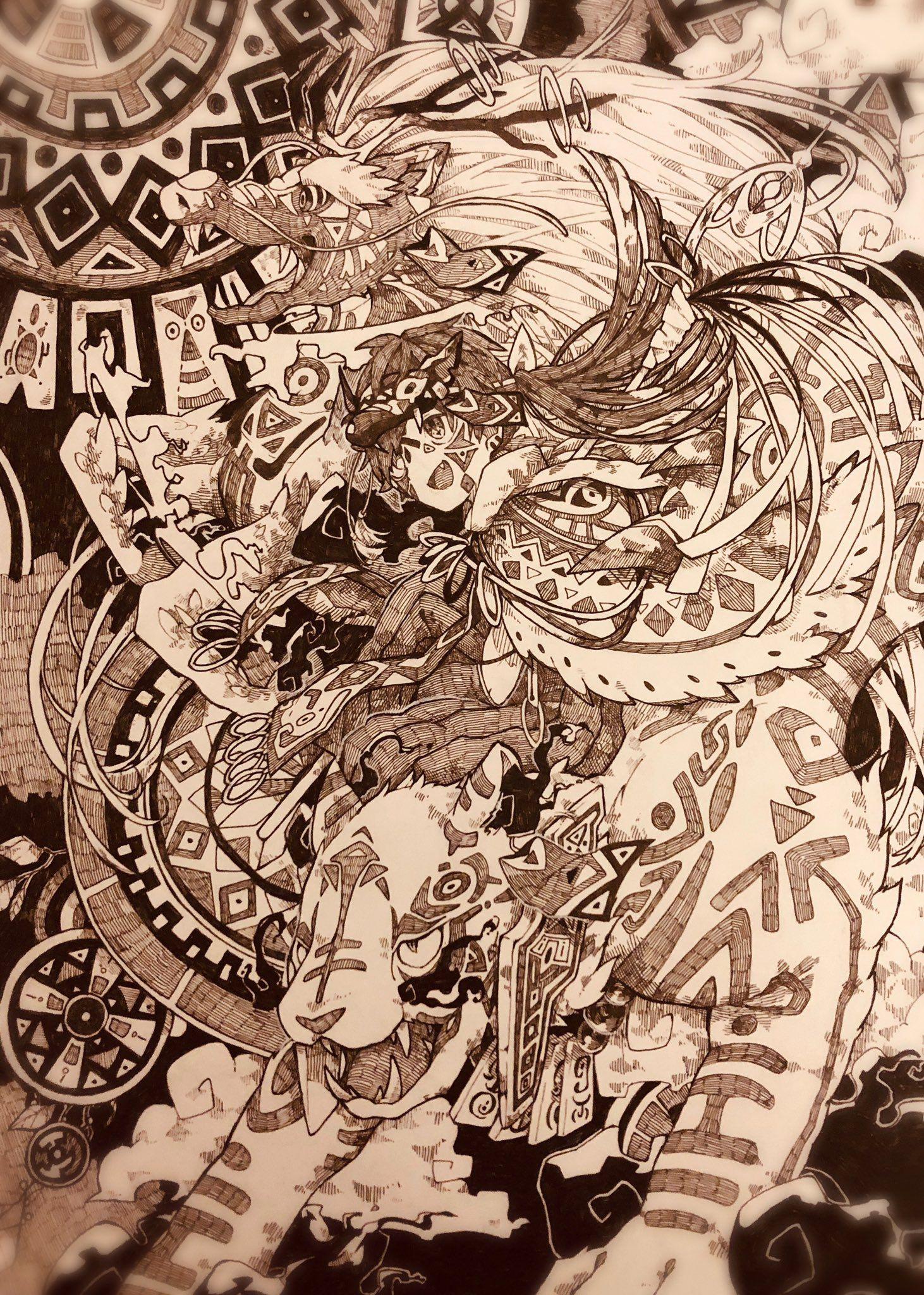 空草たろ on twitter art inspiration cool artwork cartoon art