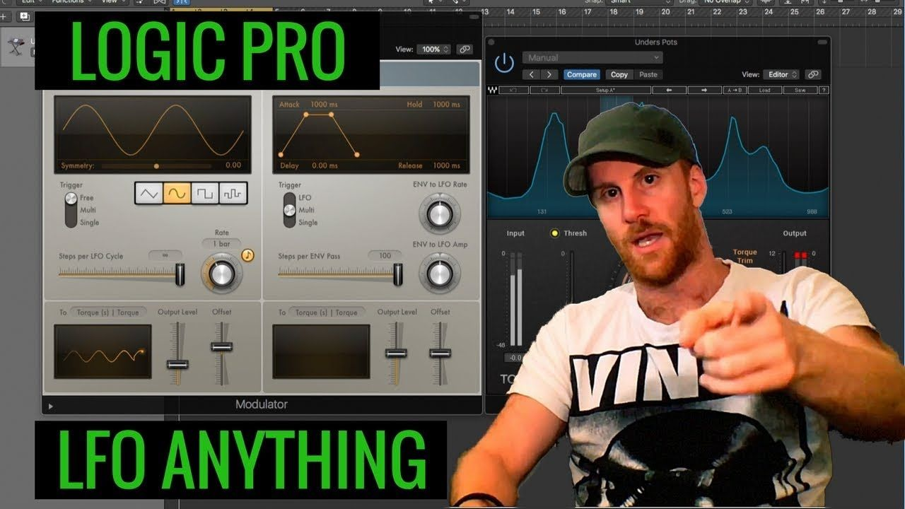 How to Link Any Plugin to The LFO Logic Pro Tutorial 41
