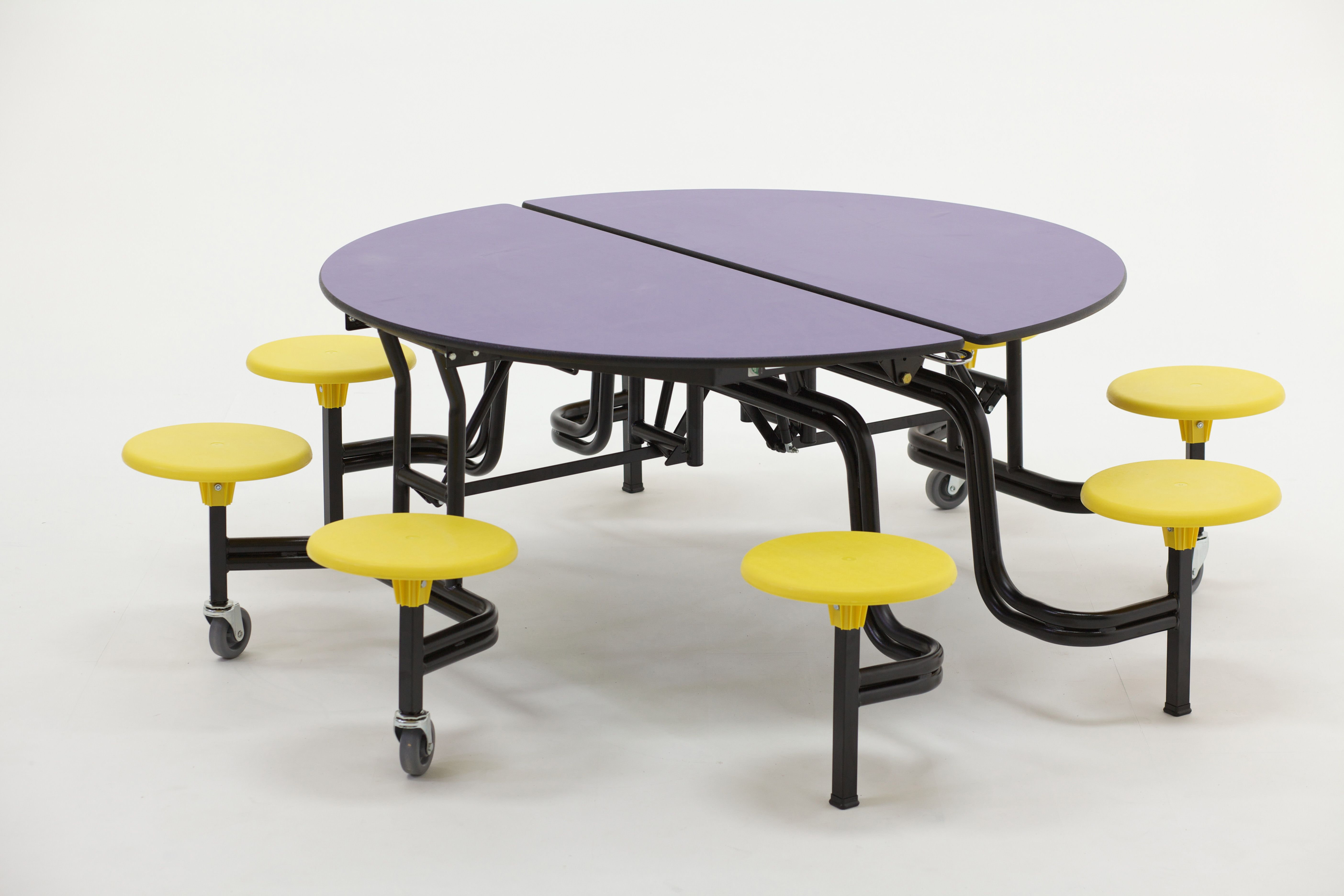 Mobile Round Table Table School Tables Cafeteria Table
