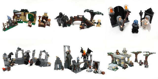 Custom Fellowship of the Ring Lego Sets by Nuju Metru